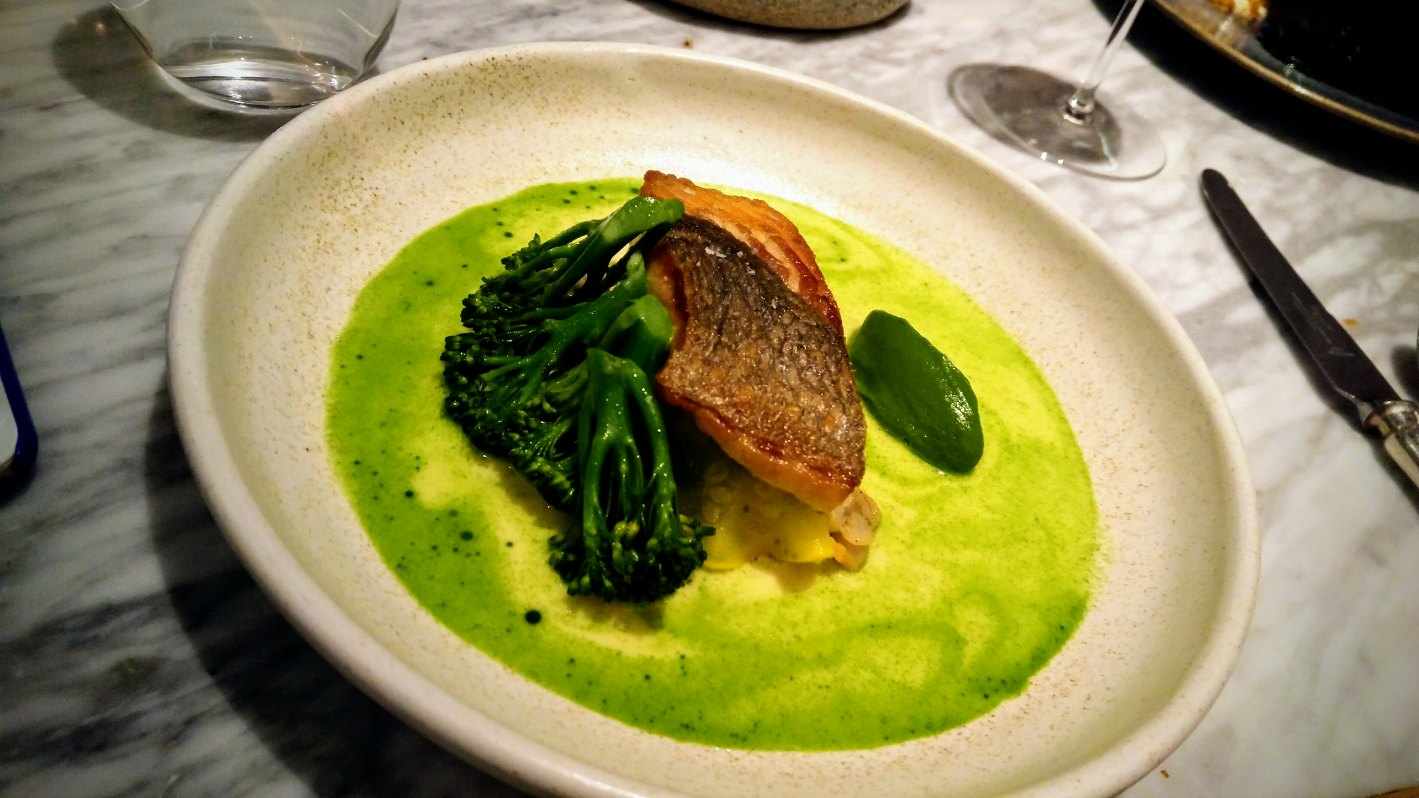 salmon broccoli