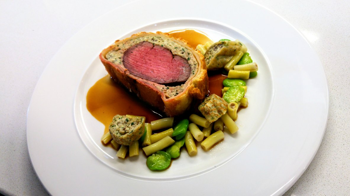 beef wellington chef