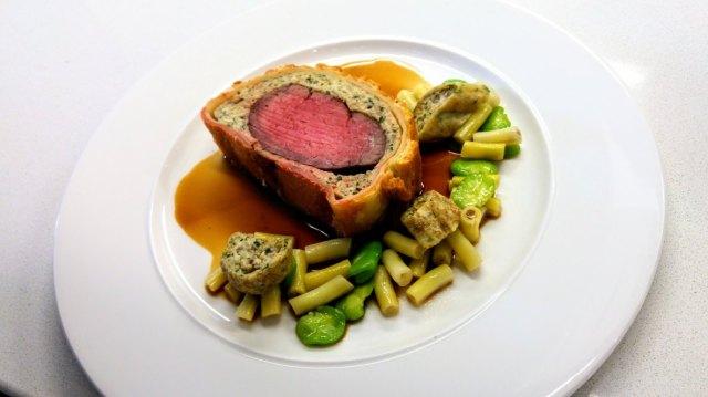 beef wellington chef