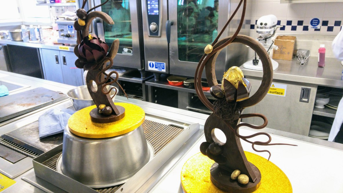 choc sculpt chef