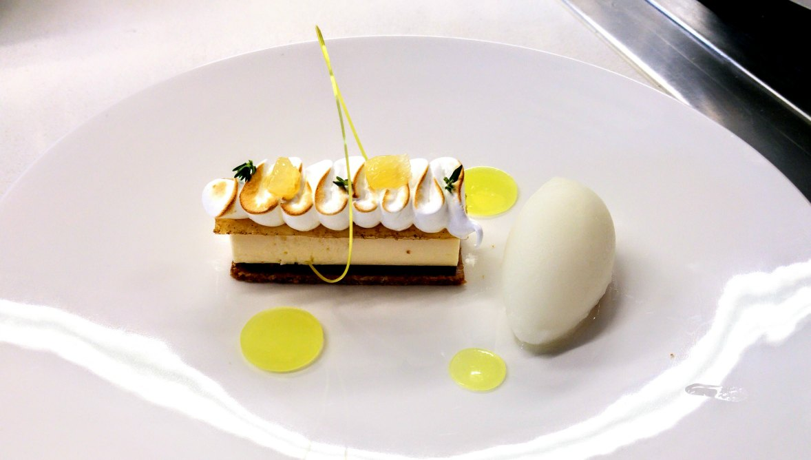 lemon tart chef